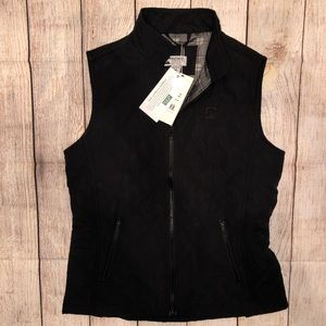 Dover Saddlery Riding Sport Quilted Vest NWT Black